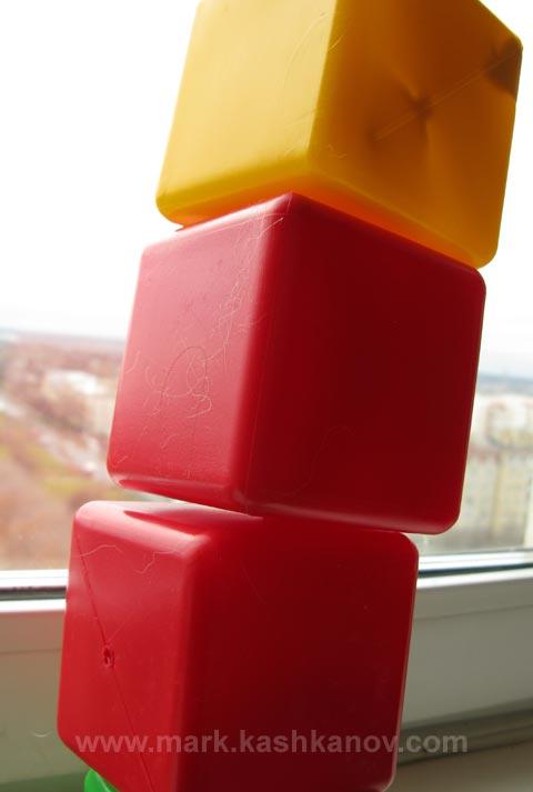 такие кубики не подходят для строительства игрушечных домиков