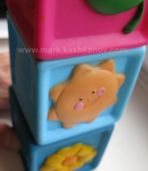 резиновые кубики с картинками