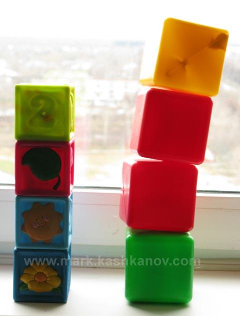 башни из кубиков. какая вам больше нравится?