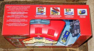 Chuggington. Игровой набор с депо. Коробка. Вид сбоку