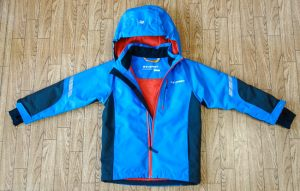 Вид спереди. Детская финская куртка Everest
