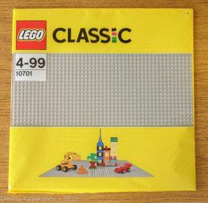 Строительная пластина LEGO Classic. Чтобы ребенок развивался правильно
