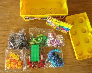Детали LEGO Classic. Чтобы ребенок развивался правильно