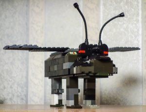 Шагоход из Звездных войн. Модификация с крыльями