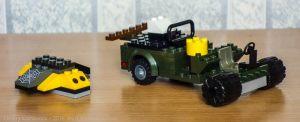 машина и истребитель