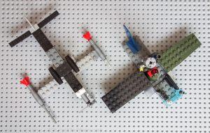 Самолеты из конструктора лего